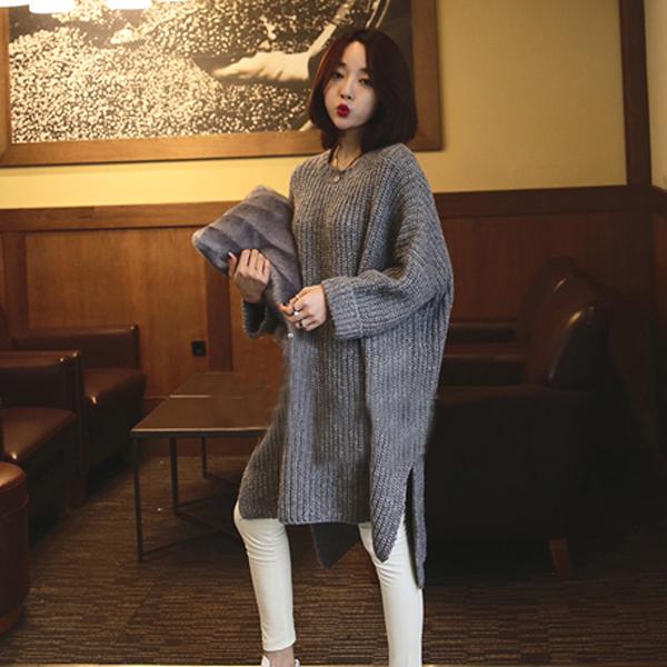 длинный свитер купить 7